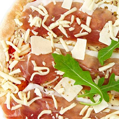 Pizza premium Speck mozza