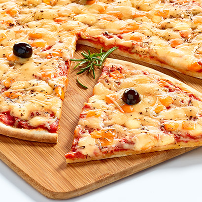 Pizza familiale 4 fromages